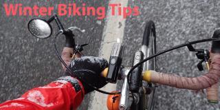 Photo of biking in Winter