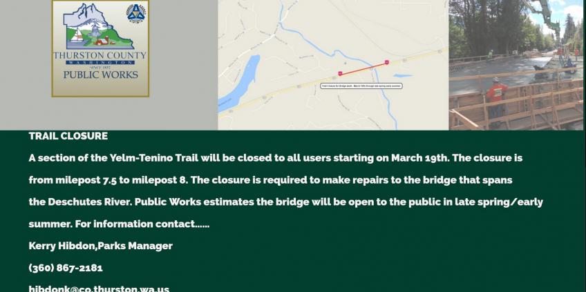 Trail Closure image