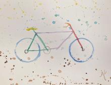 Bike Art by Jayme