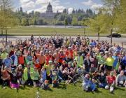 photo of Earth Day Ride group