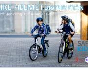 Flyer for Helmet Distribution