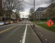 photo of Legion Way and Washington St.