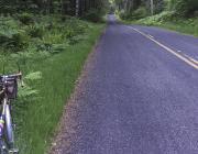 Photo of Bike Beside Road